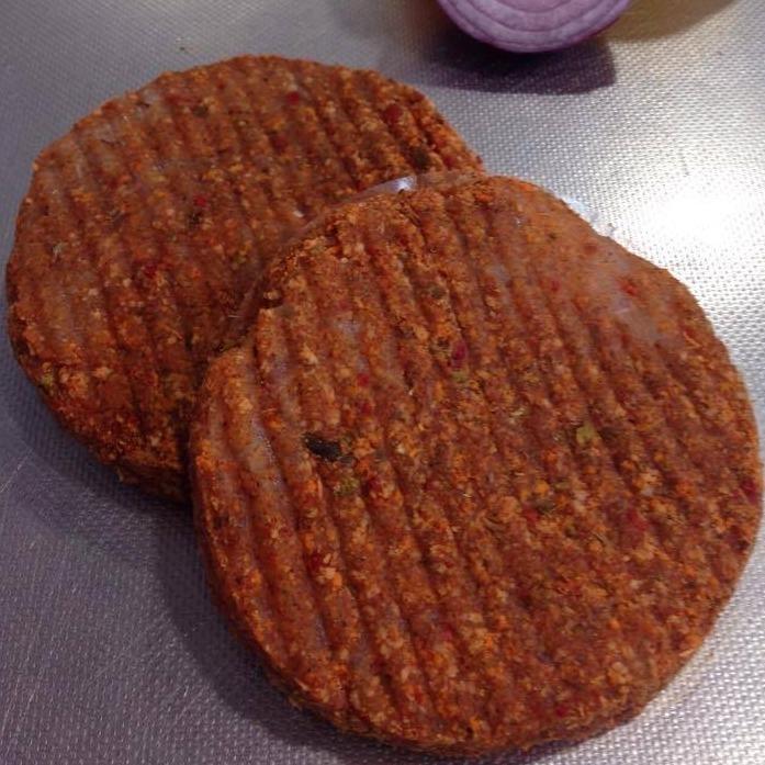Peppered Chicken Burgers