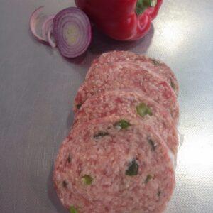 Pork & Spring Onion Round Sausage
